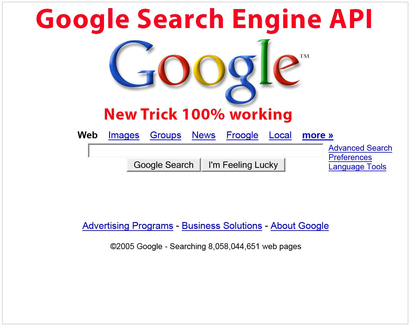 Image result for api google search